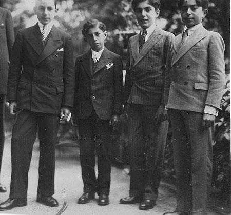 عکسهایی از دوران دانش آموزی محمدرضا شاه در سوئیس